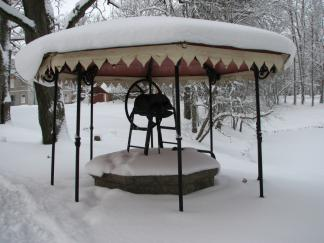 Talv Olustvere mõisas